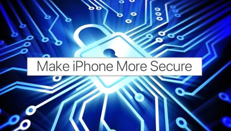 12 consejos para hacer el iPhone y el iPad más seguro en unos pocos pasos simples