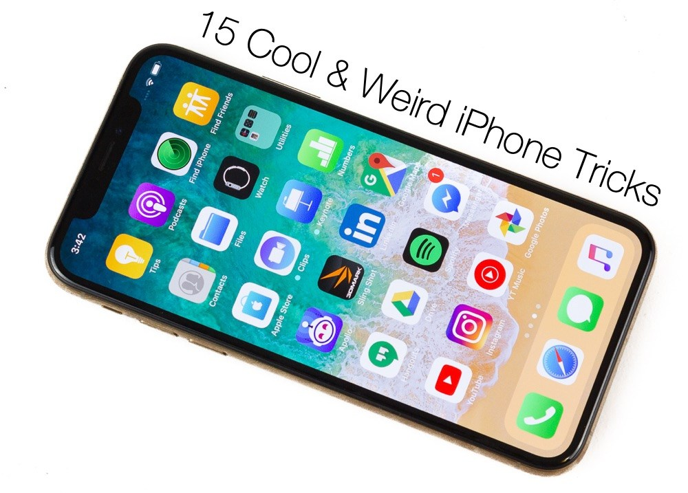 15 trucos divertidos y extraños del iPhone que usted debe saber sobre