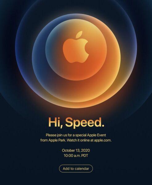 Evento de Apple Hi, Speed