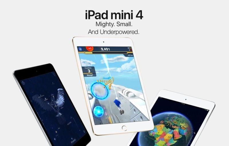 Apple está estafando a sus clientes vendiendo iPad mini 4 en 2018