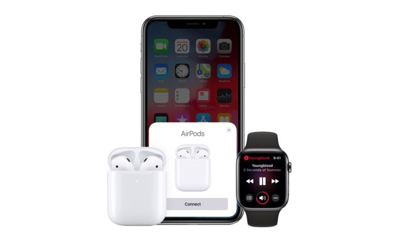Apple lanza AirPods 2 con chip H1, carga inalámbrica y manos libres Hey Siri