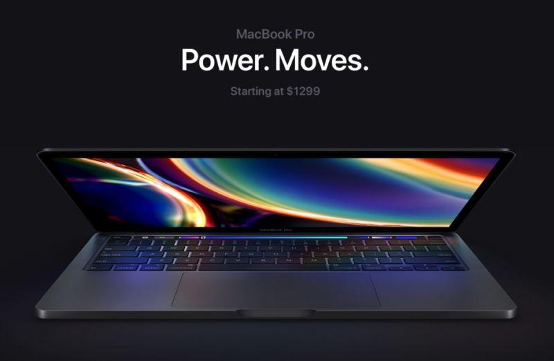Apple lanza el MacBook Pro de 13 pulgadas con teclado mágico y mejores especificaciones