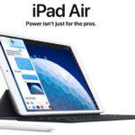 Apple lanza el nuevo iPad Air y el iPad mini 5