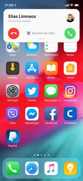 CallBar XS (iOS 12) rediseña la interfaz de llamadas, corrige la mayor molestia del iPhone