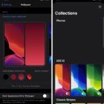 Capturas de pantalla del iOS 14 filtradas muestran una pantalla de fondo de pantalla rediseñada