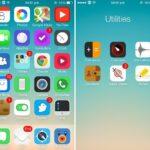Cinco magníficos temas para iOS 7 que sustituyen a sus iconos