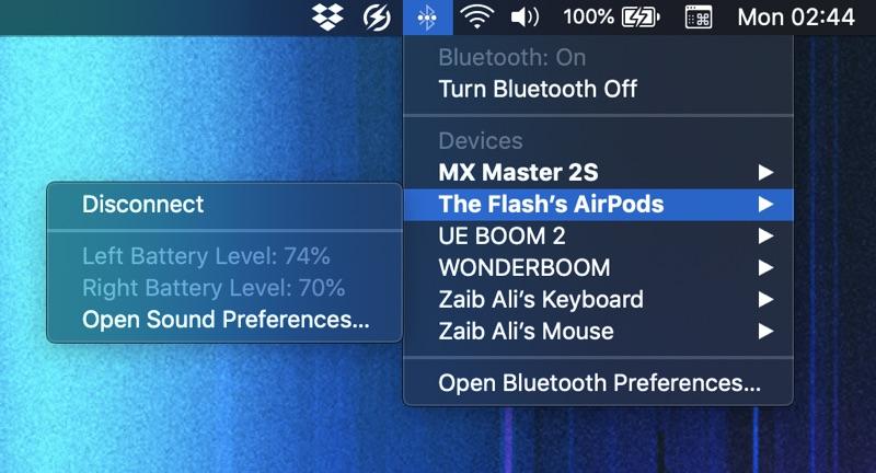 Cómo comprobar la batería de AirPods en Mac, iPhone, iPad y ver