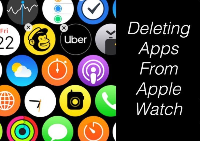 Cómo eliminar aplicaciones de Apple Watch