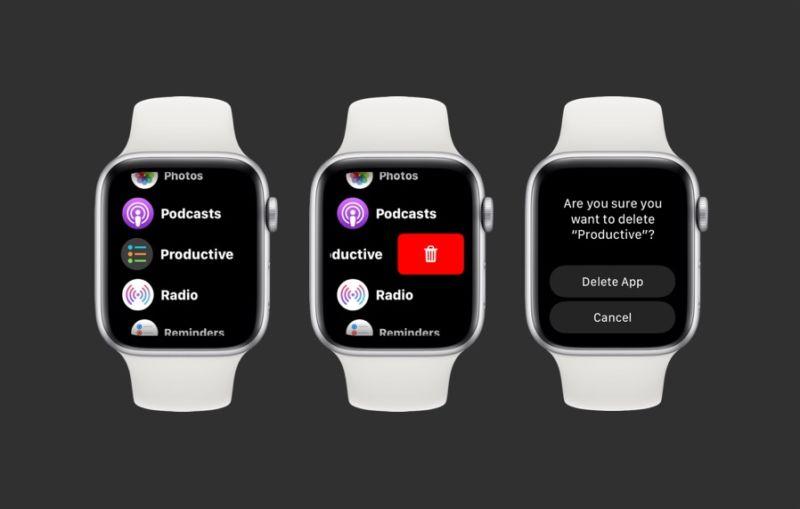Cómo eliminar aplicaciones en Apple Watch List Ver