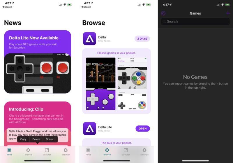 Cómo instalar AltStore y jugar tus juegos clásicos favoritos en iOS