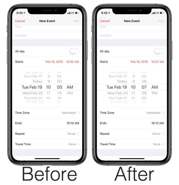 Cómo poner un tiempo más específico en el calendario[Trick]
