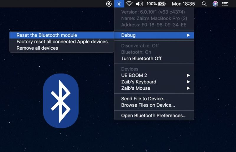 Cómo restablecer el módulo Bluetooth de Mac y arreglar problemas de conectividad Bluetooth