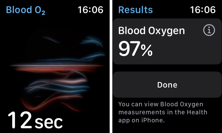 Cómo utilizar el Apple Watch para comprobar el nivel de oxígeno en la sangre