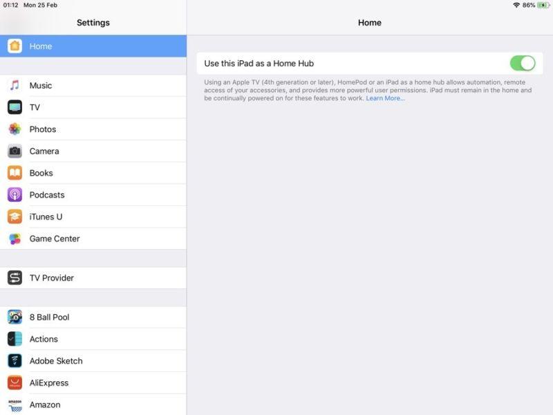 Cómo utilizar el iPad como hub casero y accesorios de control de forma remota