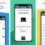 Compre con Bitcoins para obtener descuentos Amazonas en el bolso Bitcoin compras aplicación para iPhone