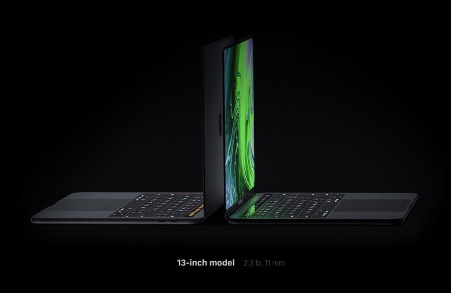 Concepto del MacBook Pro con pantalla OLED de extremo a extremo