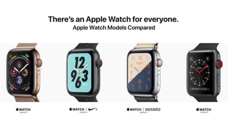 Evolucionar casamentero Mendigar  Diferencias entre los modelos Apple Watch Serie 4 【iOS Maniacos】