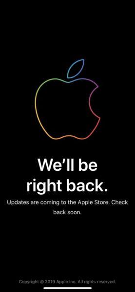 El Apple Store se ha caído, llegan nuevos productos?