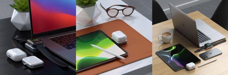El cargador Satechi USB-C Watch AirPods puede cargar Apple Watch y AirPods al mismo tiempo