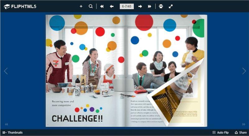 FlipHTML5 le permite crear Flipbooks interactivos y convertir PDFs en libros HTML5 con capacidad de respuesta