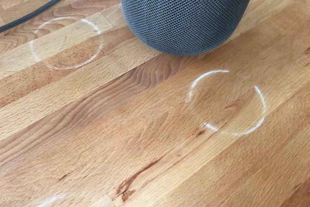 HomePod deja anillos blancos en ciertas superficies de madera - Manzana