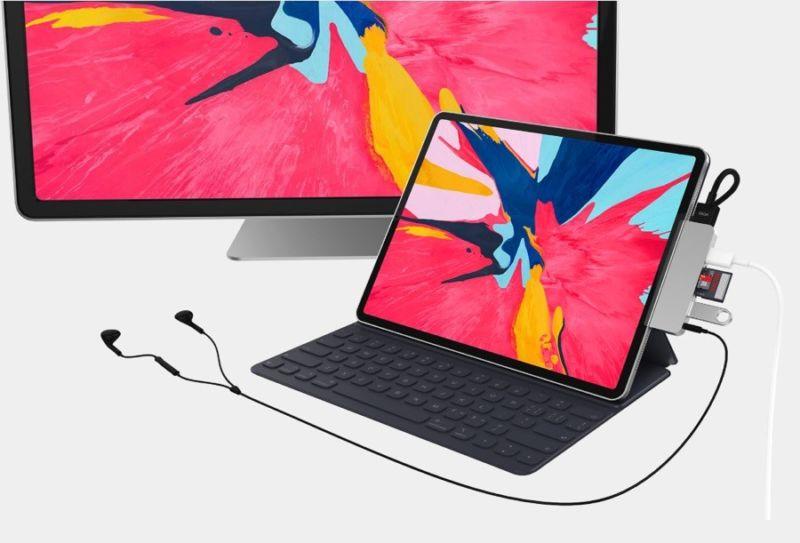 HyperDrive para iPad Pro trae el MacBook como Hub a los nuevos iPads