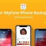iMyFone celebra el lanzamiento de iOS 12 con sorteos y descuentos masivos