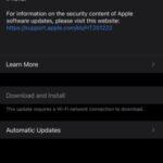 iOS 14.1 y iPadOS 14.1, enlaces de descarga directos de IPSW