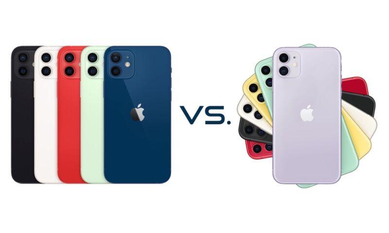 Comparación de especificaciones de iPhone 12 vs iPhone 11