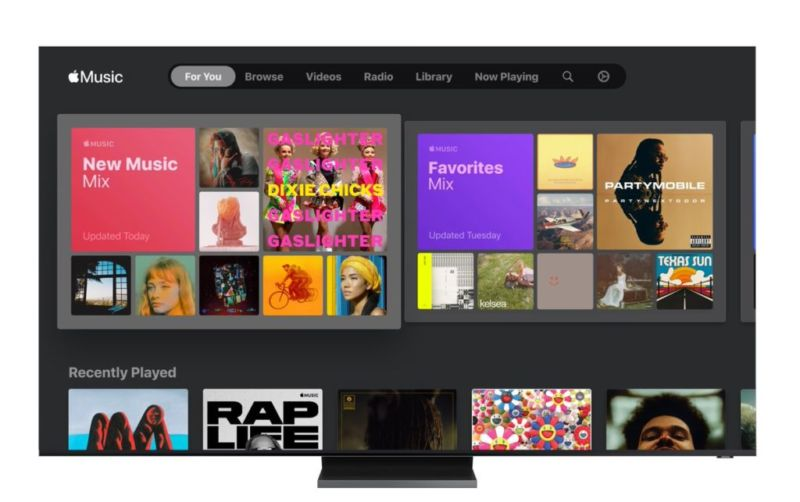 La aplicación de música de Apple ya está disponible Televisiones Samsung lanzadas en 2018 o más tarde