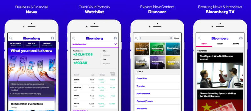 Las 5 principales aplicaciones de operaciones de Forex para iOS
