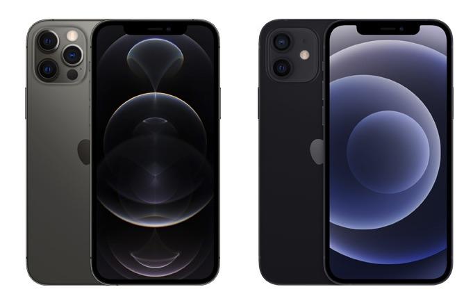 Comparación de colores de iPhone 12 Pro y iPhone 12