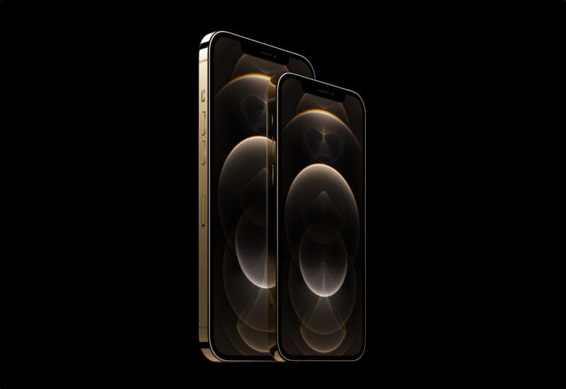 iPhone 12 Pro Dorado