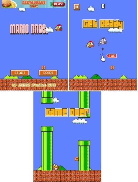 Mods impresionantes para Flappy Bird: Batman, Super Mario Bird y Blue Bird