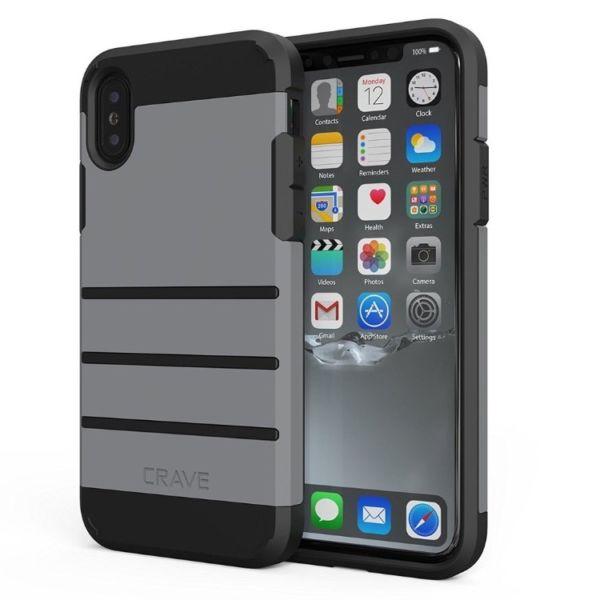 Proteja su iPhone X y 8 con fundas delgadas y duraderas contra el deseo