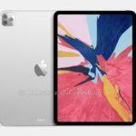 Renders muestran a los profesionales del iPad con sistema de triple cámara y respaldo de vidrio