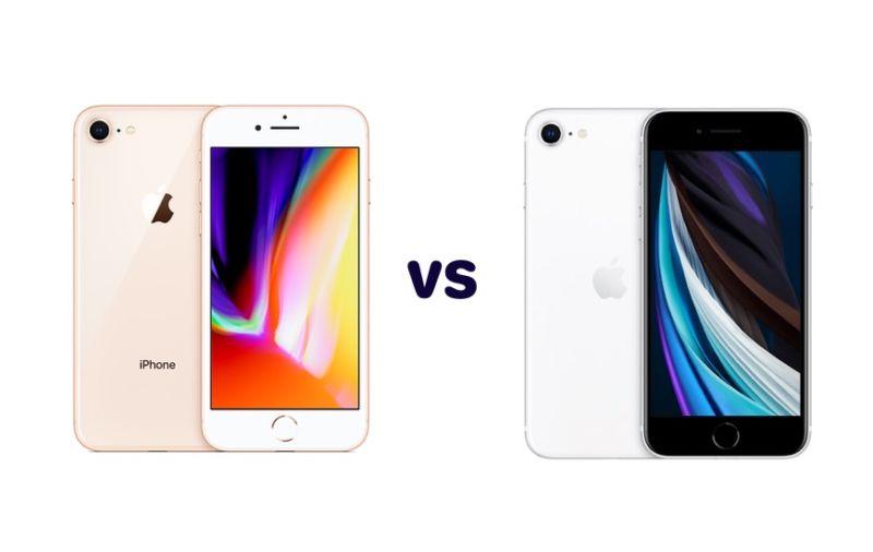 Segunda generación de iPhone SE vs. iPhone 8 - Comparación de especificaciones