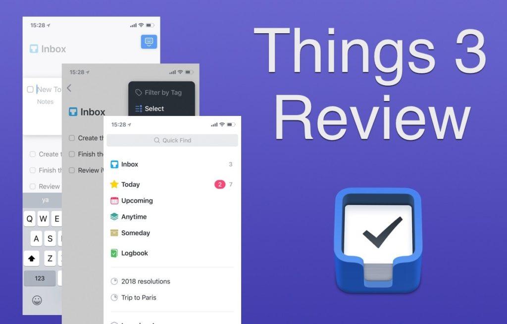 Things 3 es la mejor aplicación multidispositivo para iPhone, Mac y iPad[Reseña]