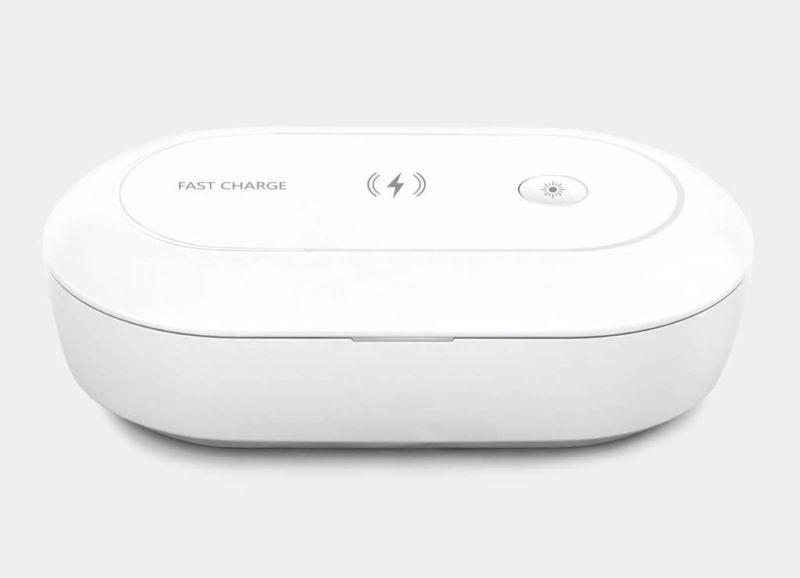 Totallee lanza un desinfectante para teléfonos UV que funciona también como cargador inalámbrico