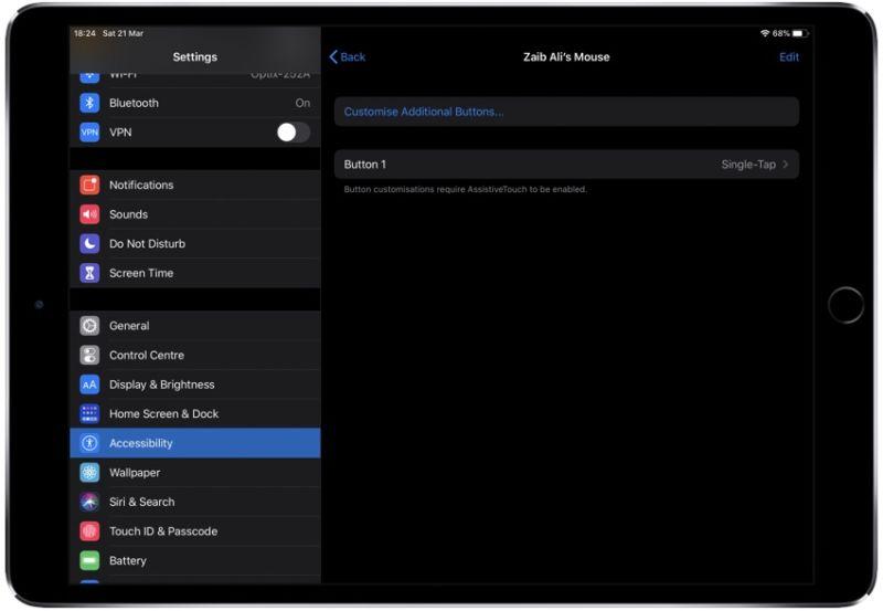 Trackpad de iPadOS o Guía del ratón: Cómo conectarse y cambiar la configuración del cursor