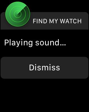 Cómo encontrar su reloj de Apple haciendo ping desde el iPhone