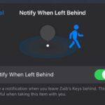 Cómo activar o desactivar las alertas de Notificar cuando se queda atrás