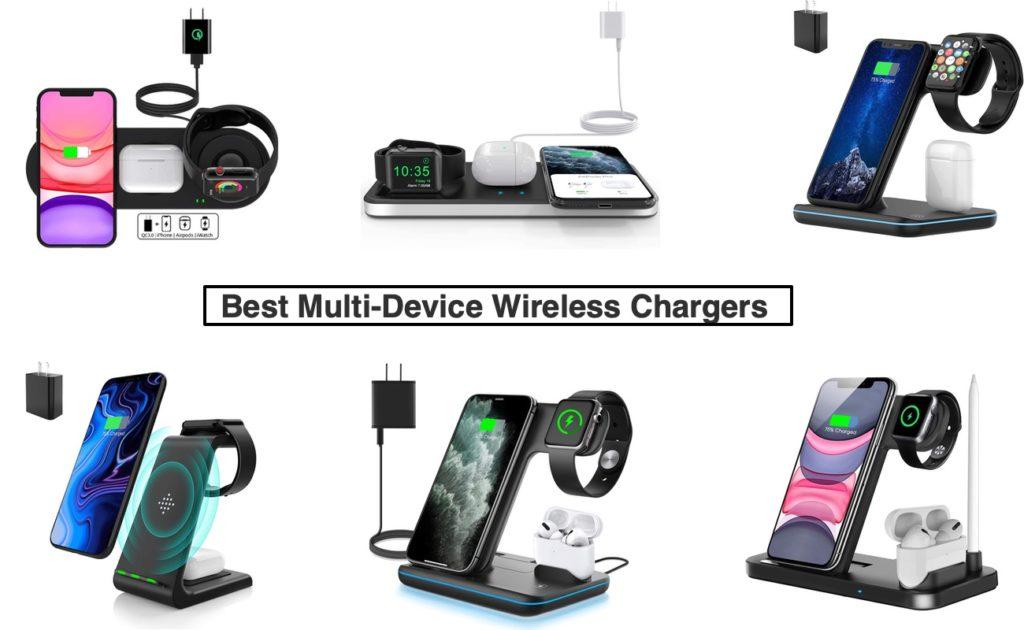 Los mejores cargadores inalámbricos multidispositivo para iPhone, AirPods y Apple Watch