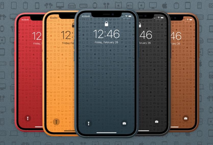 Descargar fondos de pantalla de símbolos de SF para iPhone en varios colores