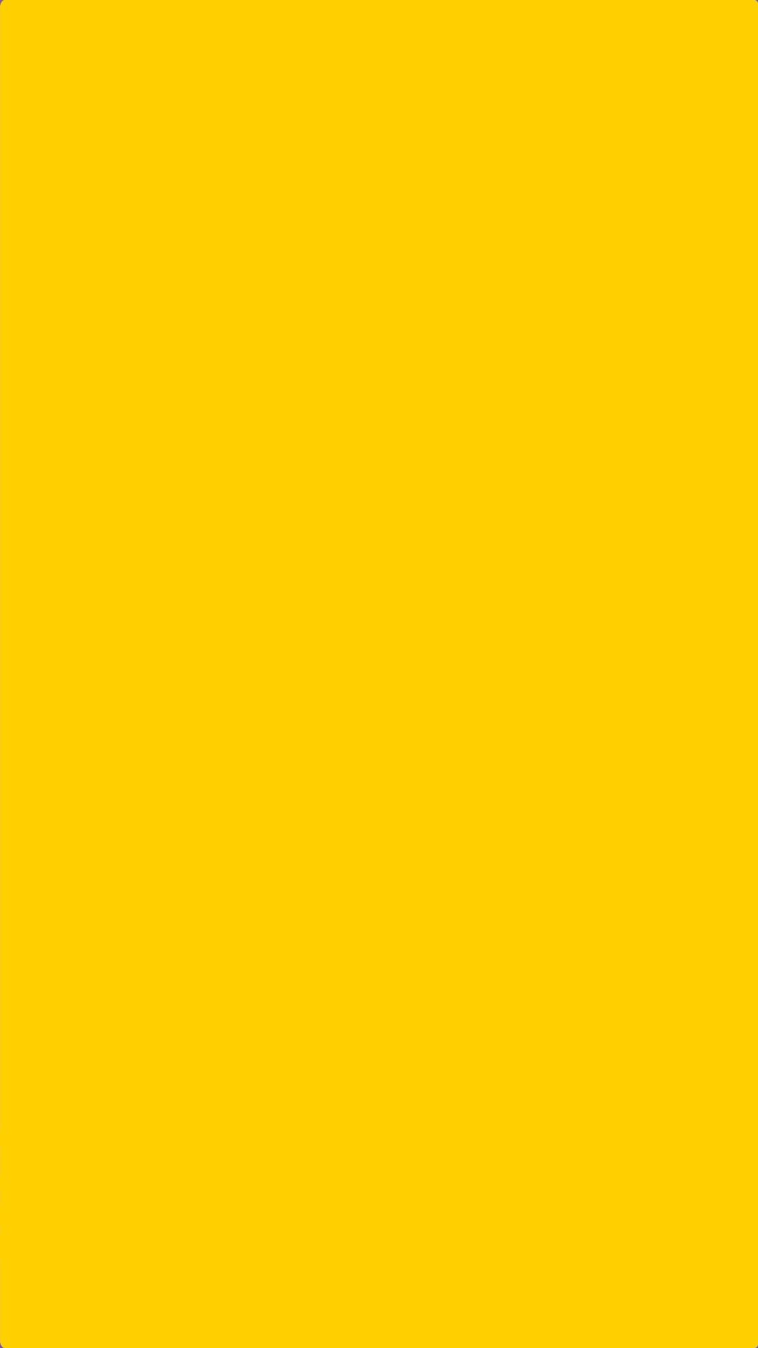 Solid Plain Yellow Wallpaper iPhone