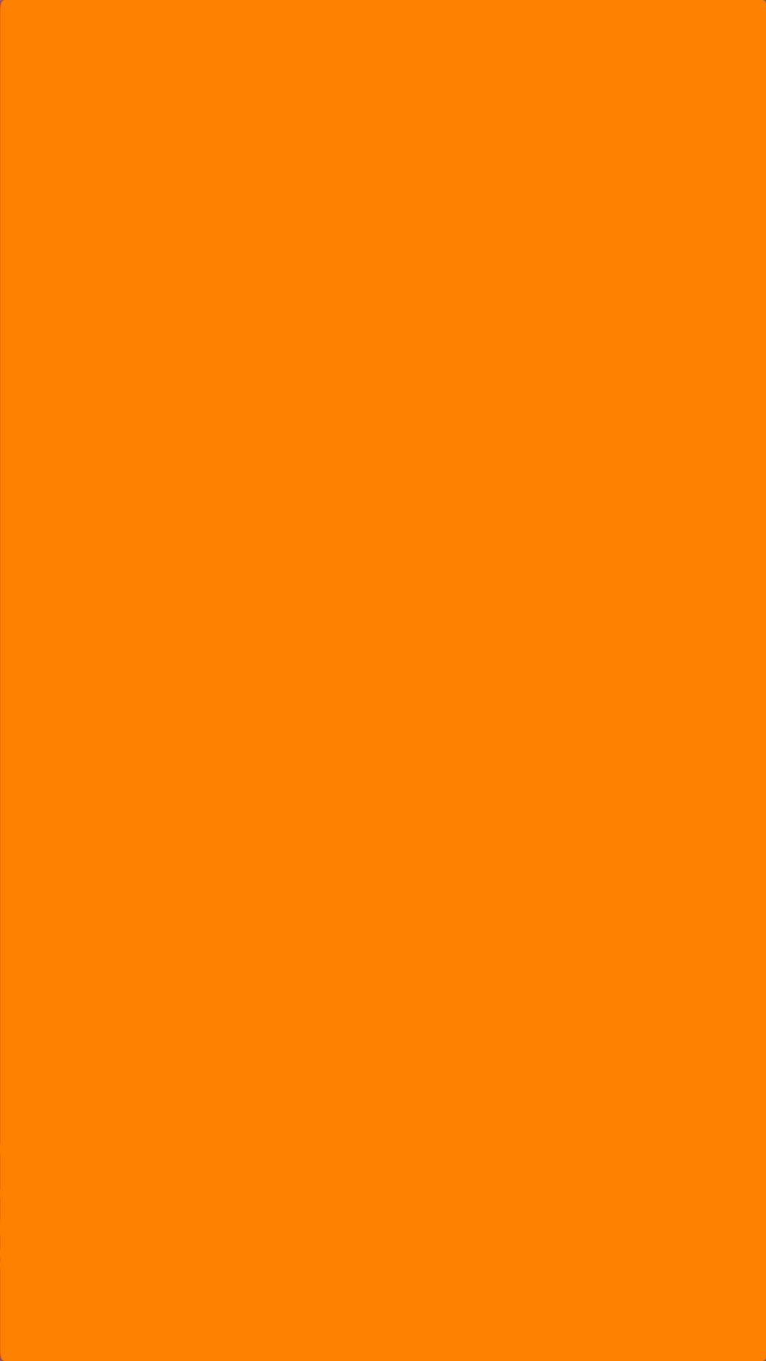 Solid Plain Orange Wallpaper iPhone