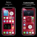 Velox Reloaded Tweak lleva widgets a la pantalla de inicio del iPhone